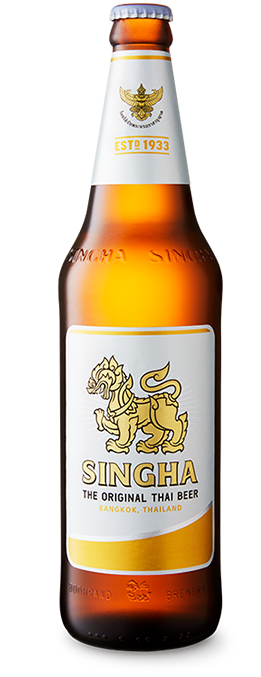 Singha Beer 620 ml Bottle Photo Download