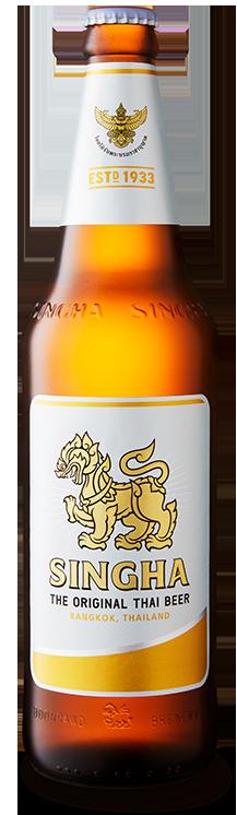 Singha Beer Bottle High Res Download