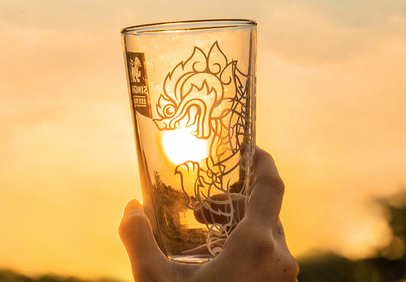 Singha Beer Logo and Photos File Download High Resolution