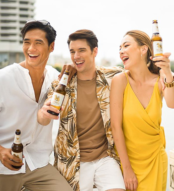 Singha Beer Advertisements