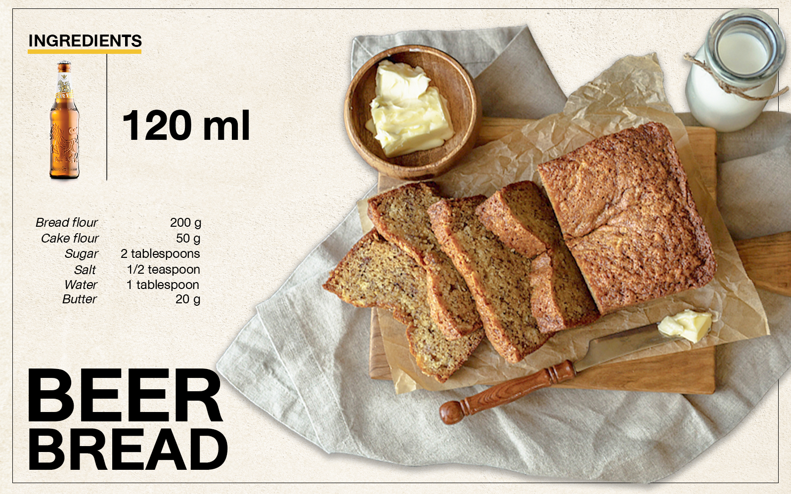 Singha Beer Bread Recipe
